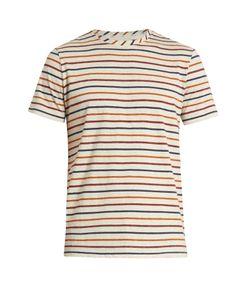 Oliver Spencer   Breton-Striped Cotton-Jersey T-Shirt