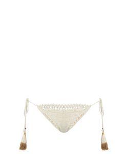 SHE MADE ME | Essential Tie-Side Crochet Bikini Briefs