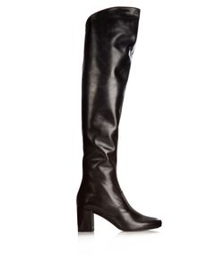 Saint Laurent | Babies Over-The-Knee Leather Boots