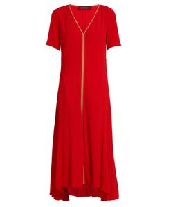 SIES MARJAN | V-Neck Silk-Crepon Dress