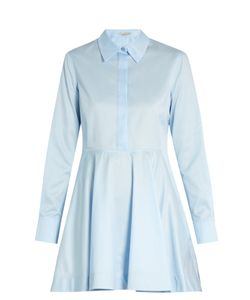 Stella Mccartney | Leile Point-Collar Cotton Shirtdress