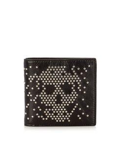 Alexander McQueen | Studded-Skull Leather Wallet