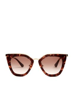 Prada Eyewear   Cat-Eye Acetate Sunglasses