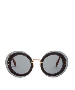 Miu Miu | Reveal Round-Frame Sunglasses
