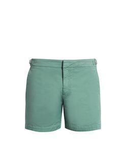 Orlebar Brown | Bulldog Cotton-Blend Twill Shorts
