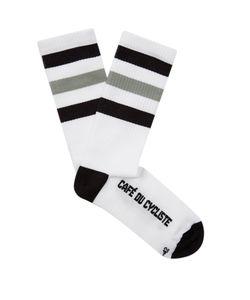 CAFÉ DU CYCLISTE | Striped Cycling Socks