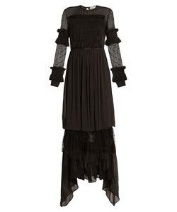 Preen Line | Cecily Ruffled-Hem Maxi Dress