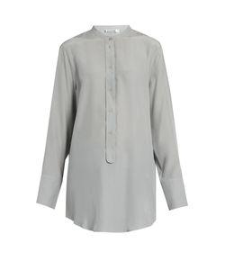 Jil Sander | Christina Silk-Crepe Shirt