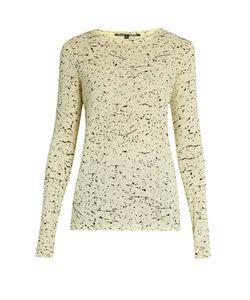 Proenza Schouler   Splatter-Print Cotton-Jersey T-Shirt