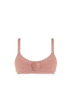 SHE MADE ME | Jannah Crop Crochet Bikini Top