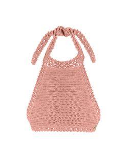 SHE MADE ME | Jannah Halterneck Crochet Bikini Top