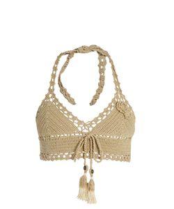SHE MADE ME | Jannah Skirted Crochet Bikini Top