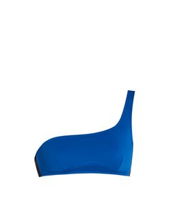 Stella Mccartney | Miracle Bi-Colour One-Shoulder Bikini Top