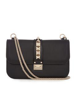 Valentino | Lock Medium Leather Shoulder Bag