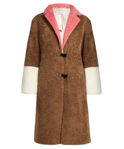 Saks Potts | Skin Shearling Coat
