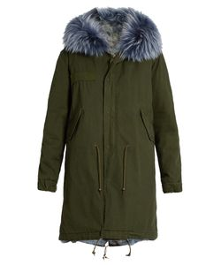 MR & MRS Italy | Fur-Lined Canvas Parka