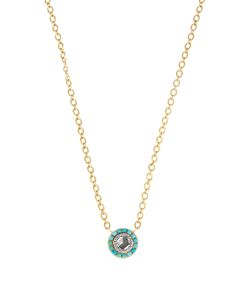 IRENE NEUWIRTH   Diamond Turquoise Yellownecklace
