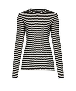 Proenza Schouler | Striped Silk And Cashmere-Blend Sweater