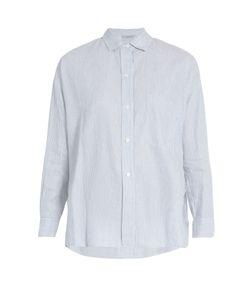 Vince | Striped Linen And Cotton-Blend Shirt
