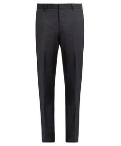Lanvin | Slim-Fit Side-Stripe Chino Trousers