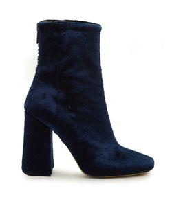 Ellery | Esmond Velvet Ankle Boots