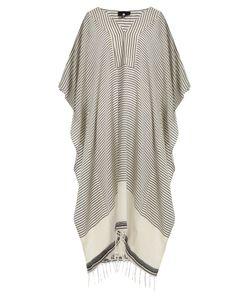 SU | Jimba V-Neck Striped Cotton Kaftan