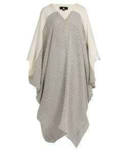 SU | Bahia Striped-Cotton Kaftan