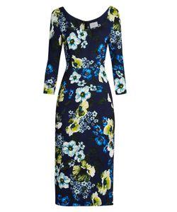 Erdem | Tess Hasu Night-Print Jersey Dress