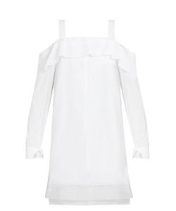 Proenza Schouler | Off-The-Shoulder Cotton-Poplin Dress