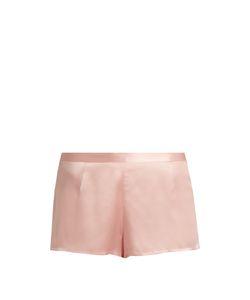 La Perla | Relaxed Silk-Satin Shorts