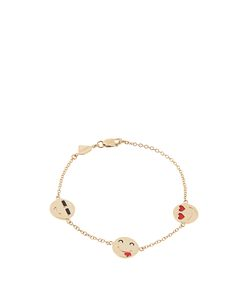 ALISON LOU | Enamel Im A Flirt Bracelet