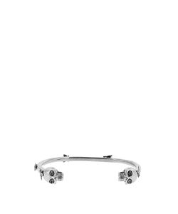 Alexander McQueen | Fly-Studded Double-Skull Cuff