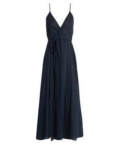 LOUP CHARMANT   Ballet Wrap Cotton Dress