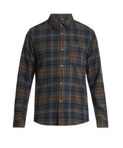 A.P.C. | Trevor Checked Wool-Blend Shirt