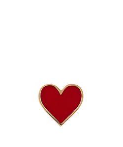 ALISON LOU | Enamel Heart Earring
