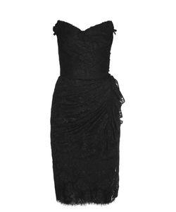 Dolce & Gabbana | Strapless Lace Dress