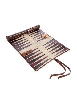 THOMAS LYTE | Rolled-Leather Backgammon Set