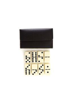 THOMAS LYTE | Leather-Encased Domino Set