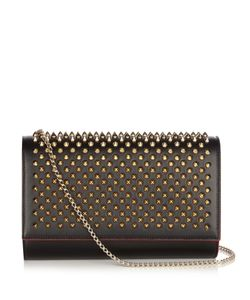 Christian Louboutin | Paloma Spike-Embellished Leather Clutch