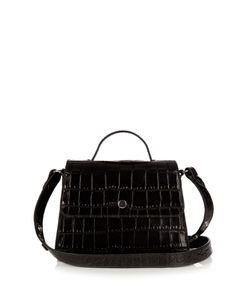Elizabeth And James   Eloise Mini Crocodile-Effect Leather Bag