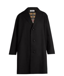 Issey Miyake | Single-Breasted Gabardine Coat
