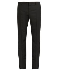 Valentino | Slim-Fit Wool And Mohair-Blend Trousers