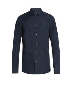 Maison Margiela   Button-Cuff Cotton-Poplin Shirt