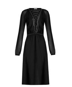 Altuzarra | Millows Lace-Up Stud-Embellished Dress
