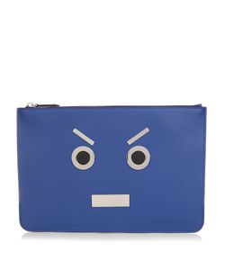 Fendi | No Words Leather Pouch