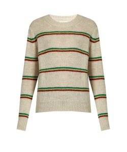 Isabel Marant Étoile | Goya Striped Alpaca-Blend Sweater