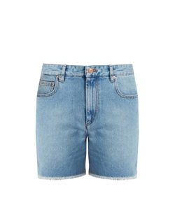 ISABEL MARANT ÉTOILE | Cedar Frayed-Hem Denim Shorts