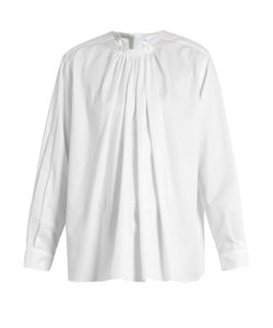 Stella Mccartney | Gathered Cotton Blouse