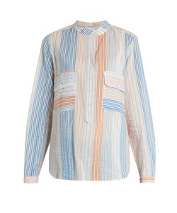 Stella Mccartney | Striped Cotton-Blend Shirt
