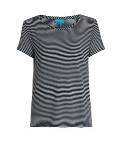 Mih Jeans | Nora Striped Cotton-Jersey T-Shirt